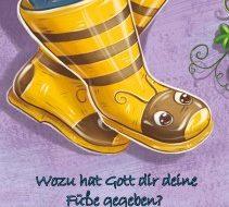 Wozu hat Gott dir deine Füße gegeben? Für Jungen